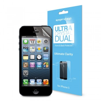 Пленка защитная SGP Screen Protector Steinheil Dual Ultra Crystal для iPhone 5/5S